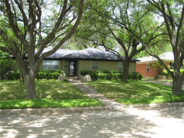 9849 Ridgehaven Drive, Dallas, TX 75238 (MLS #13829213) :: RE/MAX Town & Country