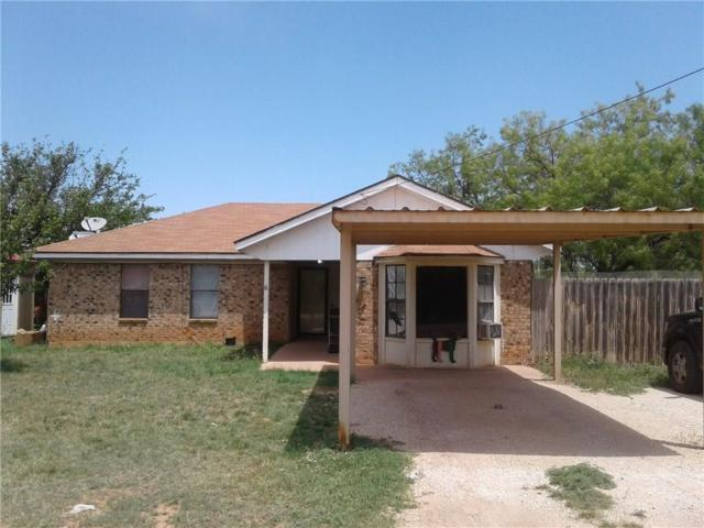 1314 6th Street, Anson, TX 79501 (MLS #13830496) :: The Tonya Harbin Team