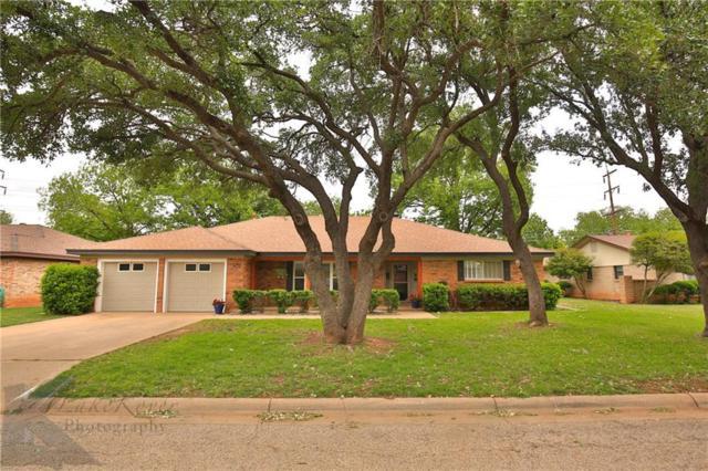 3634 Ligustrum Drive, Abilene, TX 79605 (MLS #13832690) :: The Tonya Harbin Team
