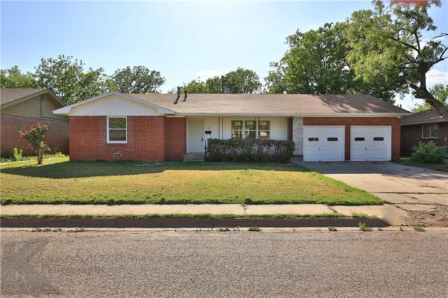 1718 Glenhaven Drive, Abilene, TX 79603 (MLS #13835552) :: RE/MAX Landmark