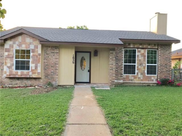 1639 Hunterwood Drive, Dallas, TX 75253 (MLS #13835984) :: Team Hodnett