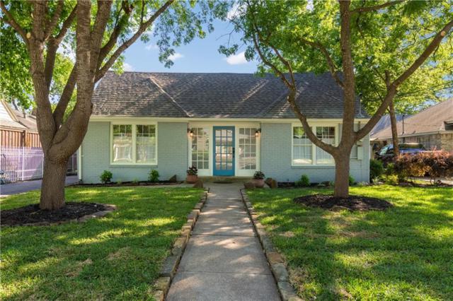 5109 Parkland Avenue, Dallas, TX 75235 (MLS #13836456) :: Team Hodnett