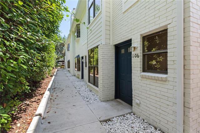 2807 Throckmorton Street #106, Dallas, TX 75219 (MLS #13836835) :: Magnolia Realty