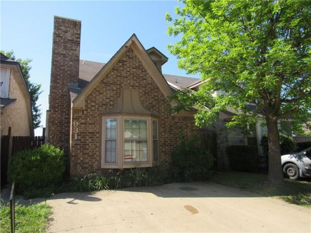 931 Fairbanks Circle, Duncanville, TX 75137 (MLS #13837614) :: The Rhodes Team