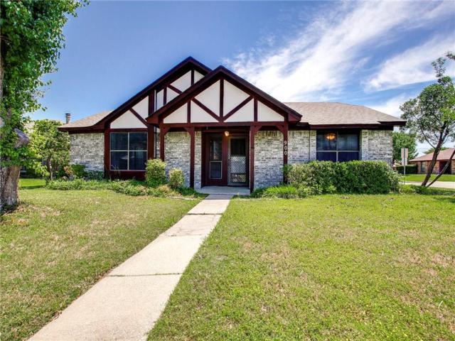 900 Pheasant Drive, Mesquite, TX 75150 (MLS #13839707) :: Team Hodnett