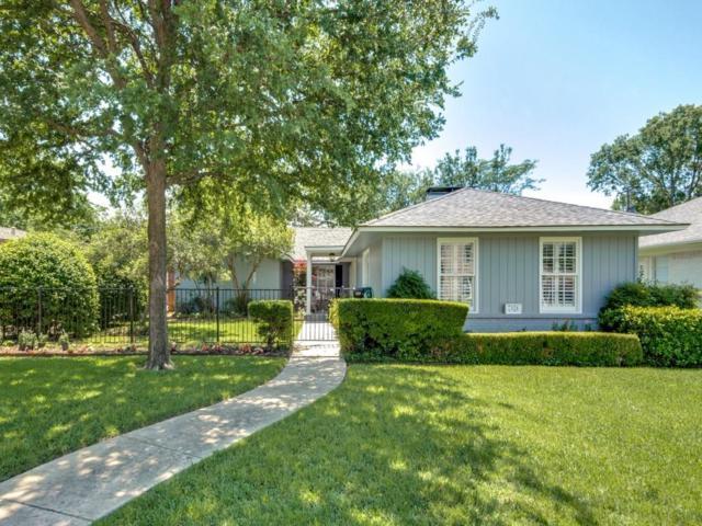 7524 Villanova Street, Dallas, TX 75225 (MLS #13840103) :: Team Hodnett