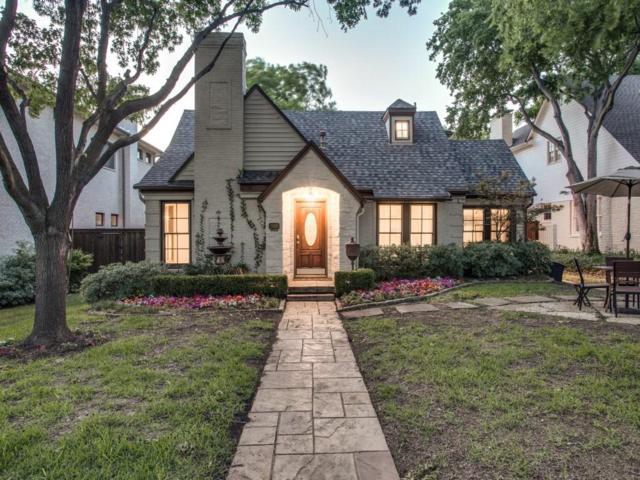 2820 Stanford Avenue, University Park, TX 75225 (MLS #13841014) :: Team Hodnett
