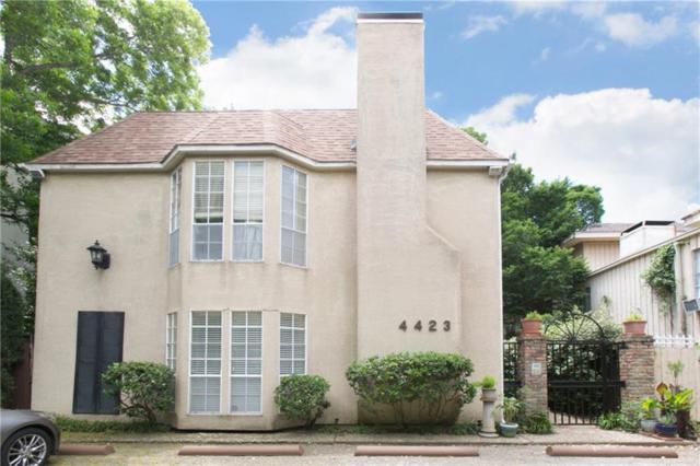 4423 Bowser Avenue #101, Dallas, TX 75219 (MLS #13841135) :: Magnolia Realty