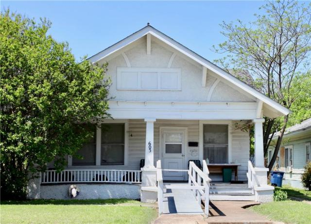 603 S Willomet Avenue, Dallas, TX 75208 (MLS #13841828) :: Team Hodnett