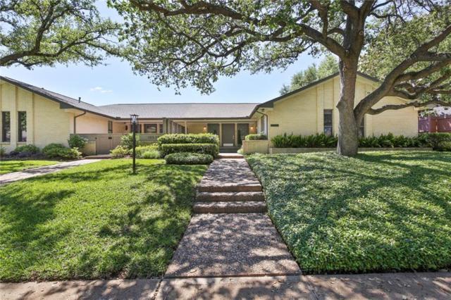 10536 Egret Lane, Dallas, TX 75230 (MLS #13841837) :: RE/MAX Landmark