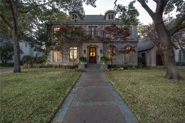 6529 Aberdeen Avenue, Dallas, TX 75230 (MLS #13841992) :: Team Tiller