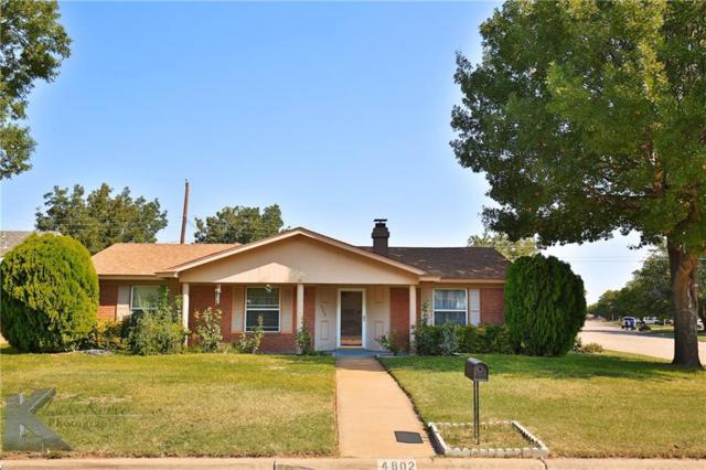 4802 Bob O Link Drive, Abilene, TX 79606 (MLS #13842119) :: Magnolia Realty