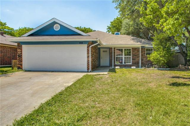 1124 W Hills Terrace, Saginaw, TX 76179 (MLS #13842588) :: The Rhodes Team
