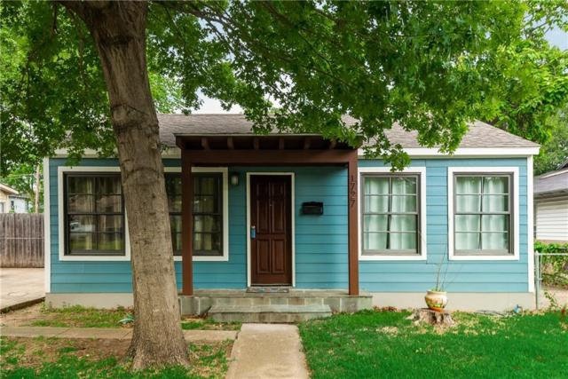 1727 Melbourne Avenue, Dallas, TX 75224 (MLS #13842796) :: RE/MAX Landmark