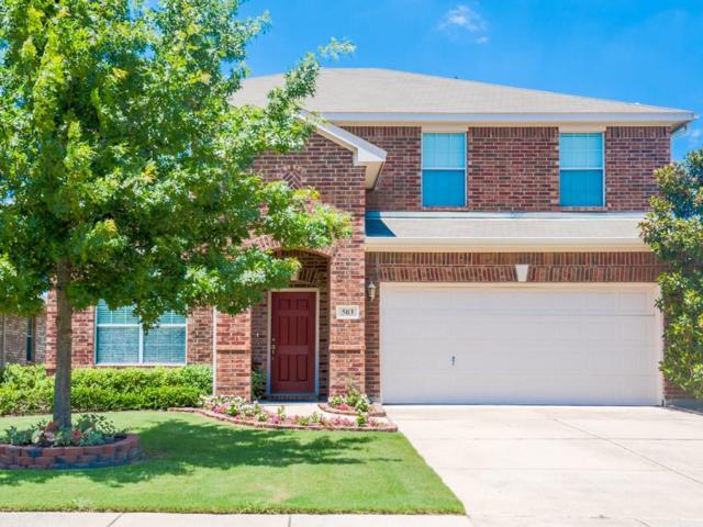 503 Creekside Drive, Princeton, TX 75407 (MLS #13842995) :: Pinnacle Realty Team