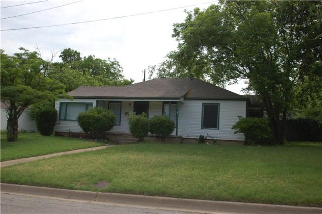 2809 Westridge Avenue, Fort Worth, TX 76116 (MLS #13844687) :: Fort Worth Property Group