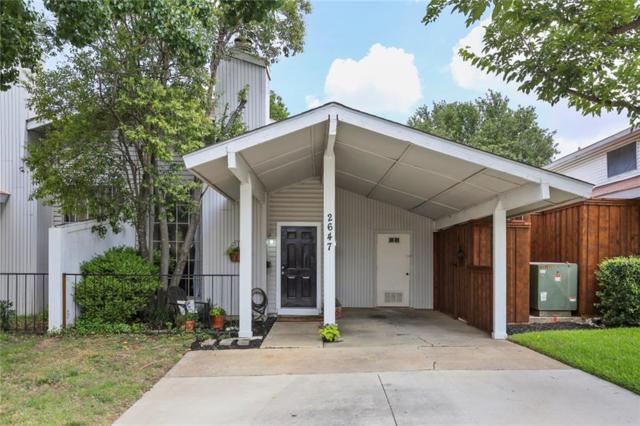 2647 Via Cordova, Carrollton, TX 75006 (MLS #13845128) :: RE/MAX Town & Country