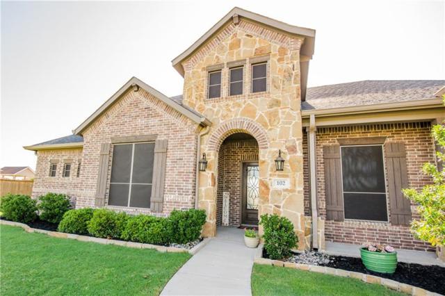 102 Willowbrook Drive, Waxahachie, TX 75165 (MLS #13845212) :: RE/MAX Preferred Associates