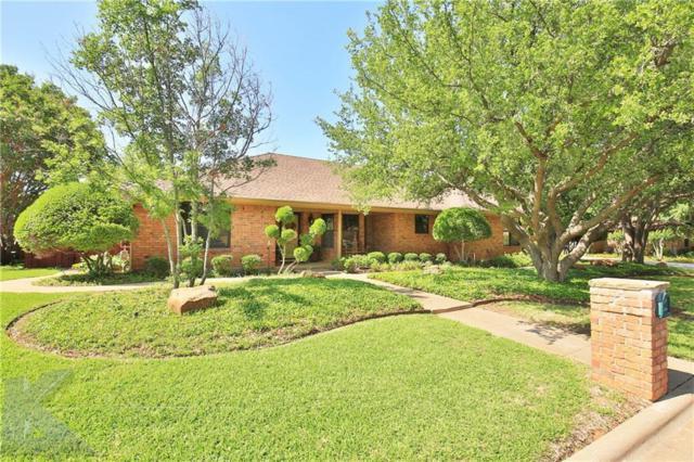 2701 Meadow Lake Drive, Abilene, TX 79606 (MLS #13845419) :: The Tonya Harbin Team