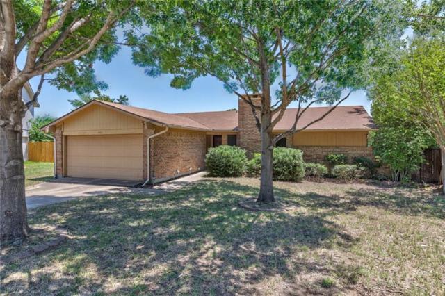 808 Foxwood Place, Lewisville, TX 75067 (MLS #13845680) :: Team Tiller