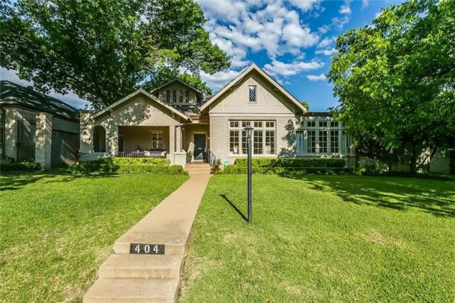 404 Virginia Place, Fort Worth, TX 76107 (MLS #13845830) :: The Mitchell Group