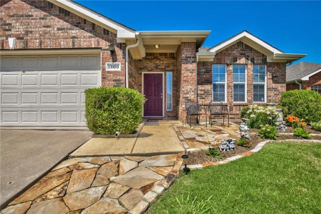 1800 Barton Springs Drive, Little Elm, TX 75068 (MLS #13846472) :: RE/MAX Performance Group