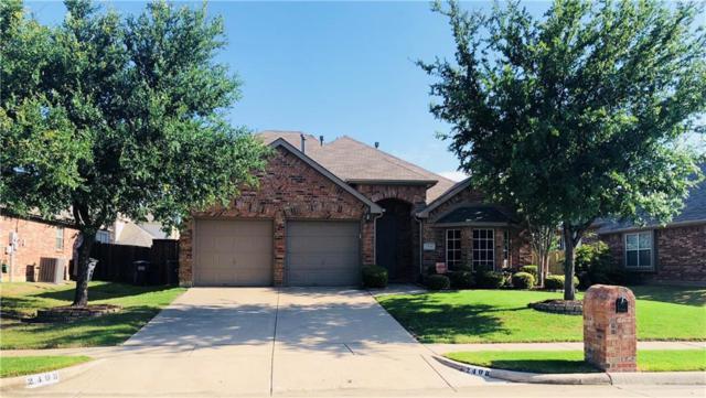 2408 Deerwood Drive, Little Elm, TX 75068 (MLS #13846517) :: Baldree Home Team