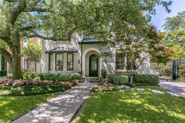 4524 Belclaire Avenue, Highland Park, TX 75205 (MLS #13846543) :: Team Hodnett