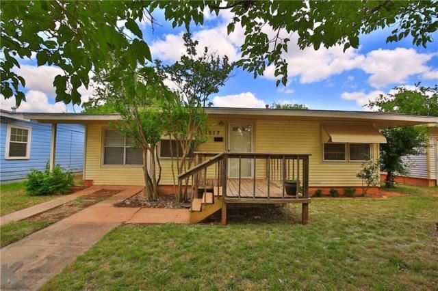 1517 N Mockingbird Lane, Abilene, TX 79603 (MLS #13847674) :: The Tonya Harbin Team