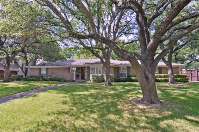 5746 Melshire Drive, Dallas, TX 75230 (MLS #13848297) :: The Chad Smith Team