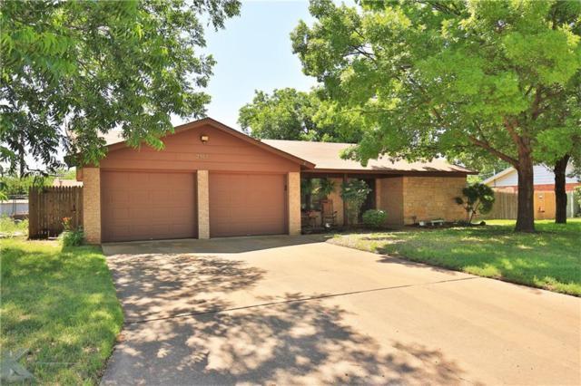 2917 Nonesuch Road, Abilene, TX 79606 (MLS #13849357) :: Magnolia Realty