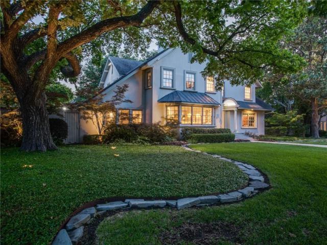 3617 Euclid Avenue, Highland Park, TX 75205 (MLS #13849392) :: Robbins Real Estate Group