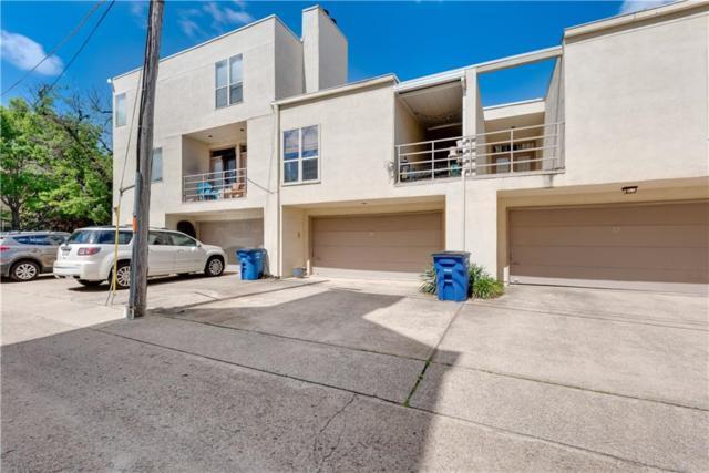 3906 Buena Vista Street #14, Dallas, TX 75204 (MLS #13849399) :: Baldree Home Team
