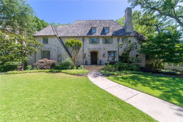 3237 Greenbrier Drive, University Park, TX 75225 (MLS #13850968) :: Robbins Real Estate Group