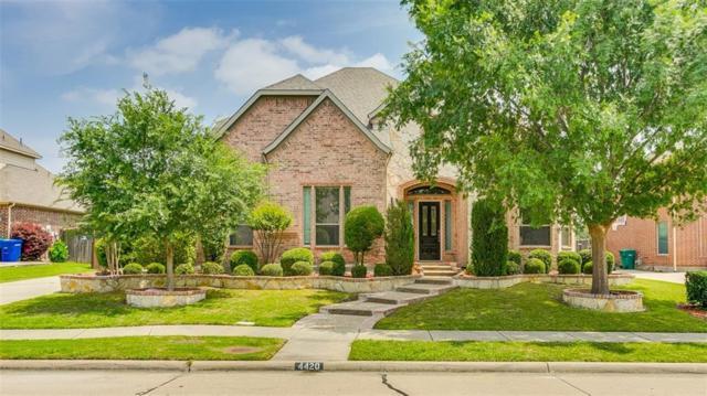 4420 Fairway Drive, Carrollton, TX 75010 (MLS #13851213) :: RE/MAX Town & Country