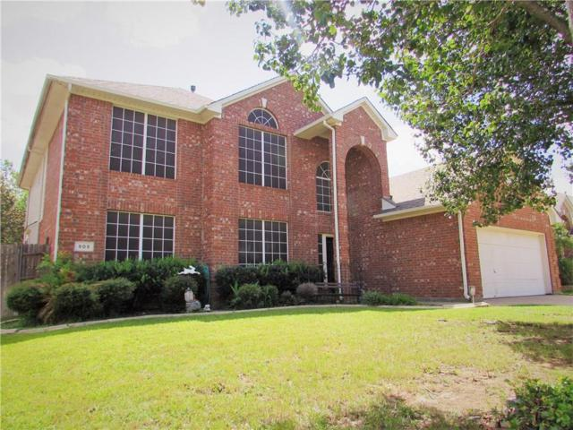 905 Valley Terrace Road, Burleson, TX 76028 (MLS #13851262) :: The Mitchell Group