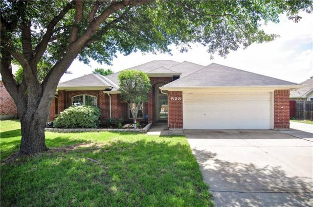 523 Ridgewood Street, Lake Dallas, TX 75065 (MLS #13851266) :: Real Estate By Design