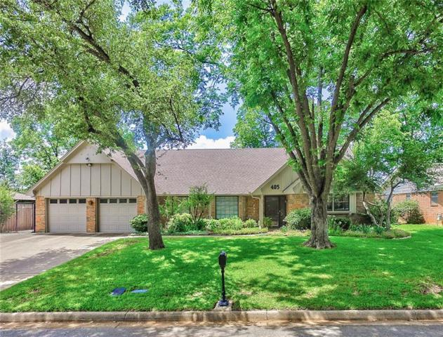 405 Circleview Drive S, Hurst, TX 76054 (MLS #13851393) :: Team Hodnett