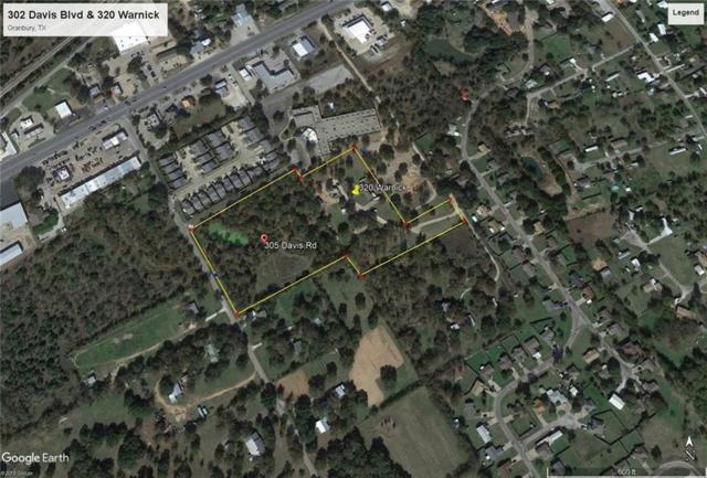 305 Davis Road, Granbury, TX 76049 (MLS #13851650) :: The Heyl Group at Keller Williams
