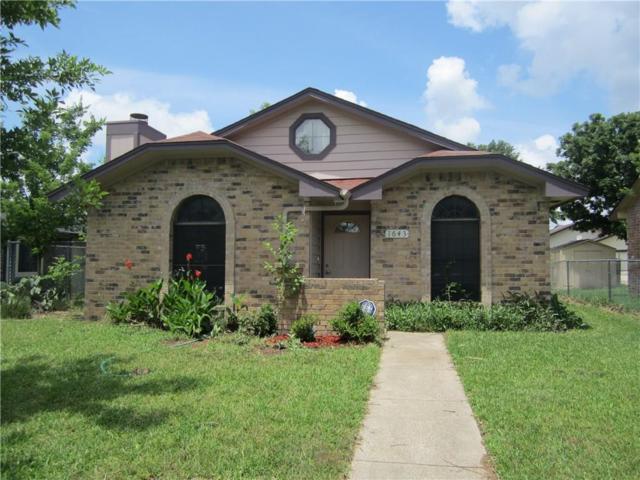 1643 Hunterwood Drive, Dallas, TX 75253 (MLS #13852680) :: Team Hodnett