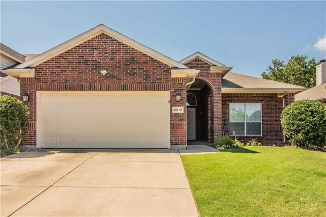 2512 Priscella Drive, Fort Worth, TX 76131 (MLS #13852977) :: The Chad Smith Team