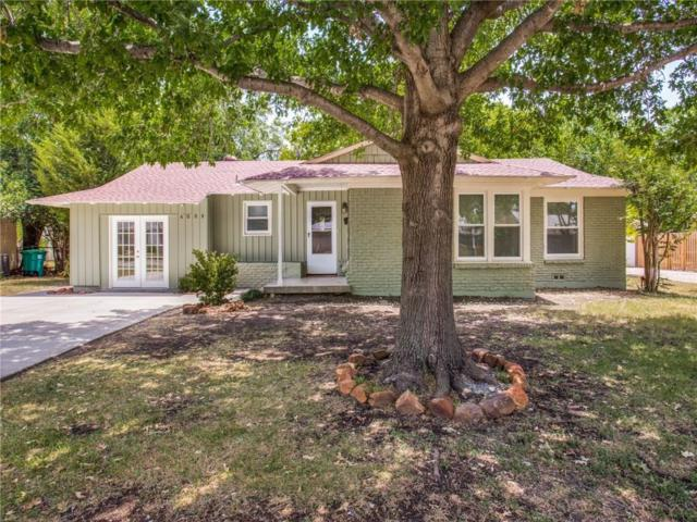 4009 Acacia, Fort Worth, TX 76109 (MLS #13853192) :: Team Hodnett