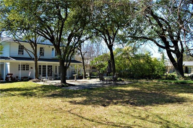 5569 Wenonah Drive, Dallas, TX 75209 (MLS #13853697) :: RE/MAX Town & Country