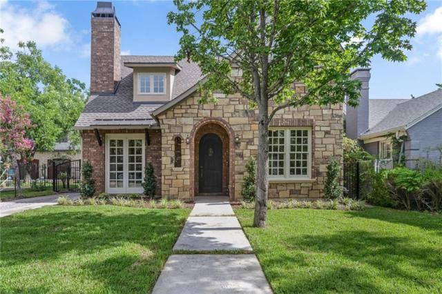 1921 Old Orchard Drive, Dallas, TX 75208 (MLS #13855328) :: Team Hodnett