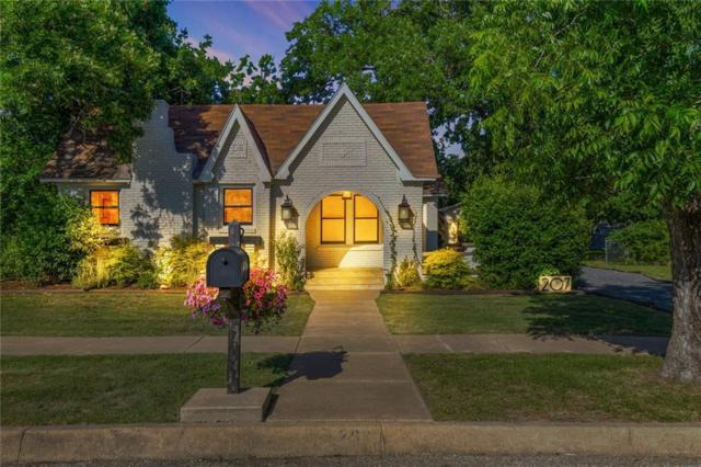 207 Sunset Drive, Cleburne, TX 76033 (MLS #13855500) :: Team Hodnett