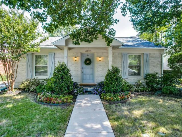 4433 Hyer Street, University Park, TX 75205 (MLS #13856157) :: Team Hodnett