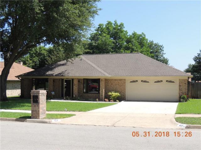 417 Overcrest Drive, Benbrook, TX 76126 (MLS #13857087) :: Magnolia Realty