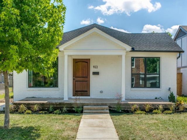 922 N Windomere Avenue, Dallas, TX 75208 (MLS #13857189) :: Team Hodnett