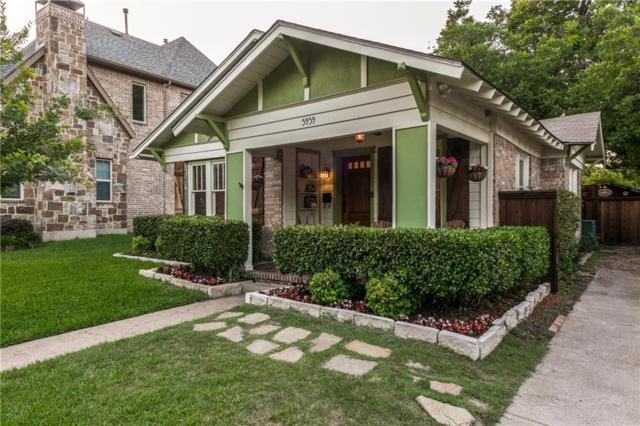5939 Richmond Avenue, Dallas, TX 75206 (MLS #13857746) :: Magnolia Realty