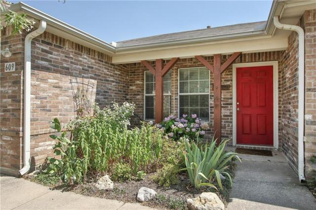 609 Partridge Drive, Saginaw, TX 76131 (MLS #13857751) :: The Chad Smith Team